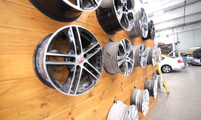 4 החלפת צמיגים ואיזון גלגלים במוסך סגול, כרמיאל