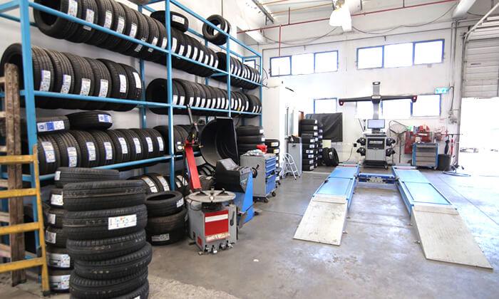2 החלפת צמיגים ואיזון גלגלים במוסך סגול, כרמיאל