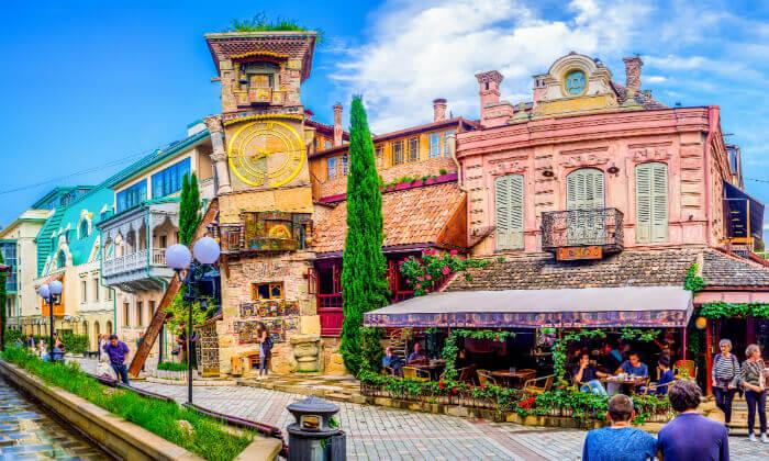 5 טיול מאורגן לגאורגיה, כולל טיול ג'יפים, ערבי פולקלור ועוד. כולל חגים