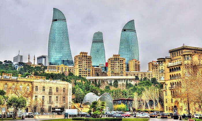 3 חופשה בבאקו - שילוב מושלם של פריז, דובאי ומלון מפנק, כולל סופ''ש