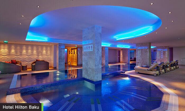 4 5 כוכבים ב-Hilton באקו - שילוב מושלם של פריז, דובאי ומלון מפנק, כולל סופ''ש