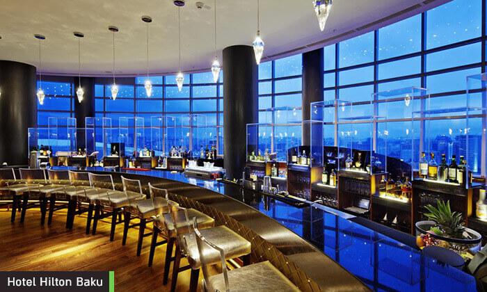 6 5 כוכבים ב-Hilton באקו - שילוב מושלם של פריז, דובאי ומלון מפנק, כולל סופ''ש