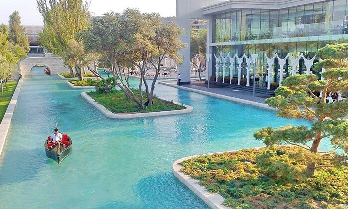9 5 כוכבים ב-Hilton באקו - שילוב מושלם של פריז, דובאי ומלון מפנק, כולל סופ''ש
