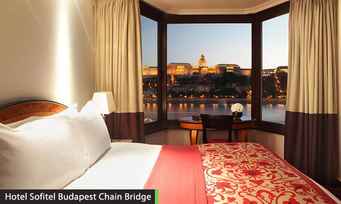 """6 חופשה בבודפשט - מלון 5 כוכבים מומלץ ומרכזי על גדת נהר הדנובה, כולל סופ""""ש"""
