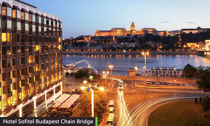 """3 חופשה בבודפשט - מלון 5 כוכבים מומלץ ומרכזי על גדת נהר הדנובה, כולל סופ""""ש"""