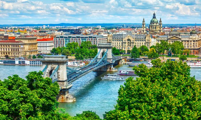 """10 חופשה בבודפשט - מלון 5 כוכבים מומלץ ומרכזי על גדת נהר הדנובה, כולל סופ""""ש"""