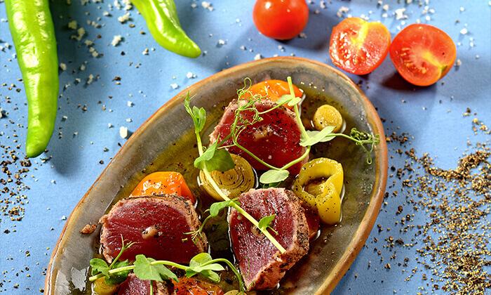 """7 מסעדת טפאו TAPEO הרצליה ות""""א - ארוחת שף זוגית"""