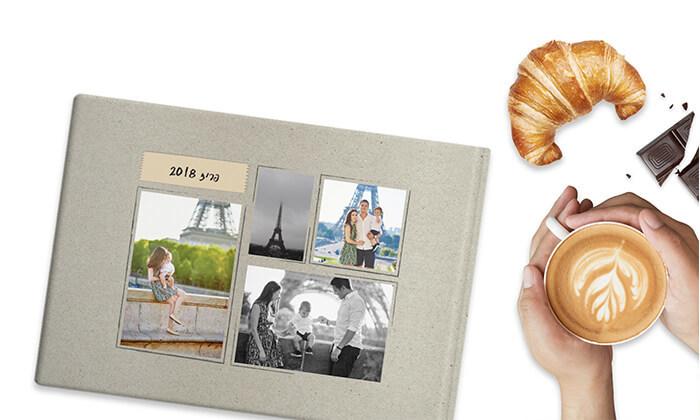 5 אלבום תמונות בעיצוב אישי בכריכה קשה באתר ZOOMA החדש