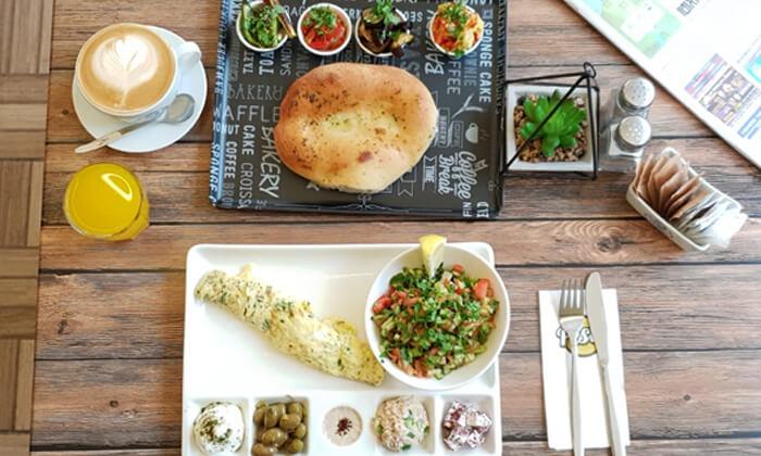 2 ארוחת בוקר זוגית במסעדת פסטו הכשרה, ירושלים