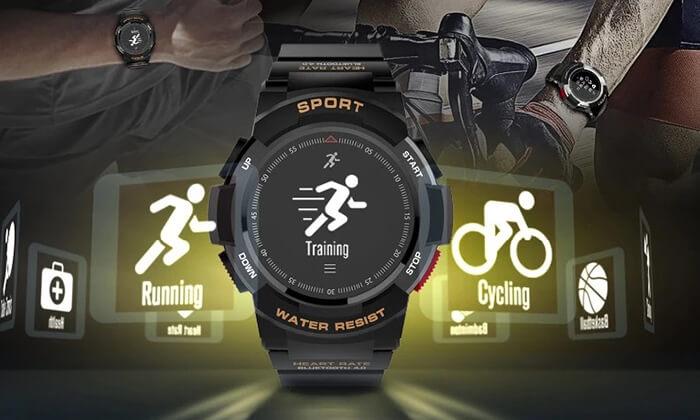5 שעון ספורט חכם עמיד במים
