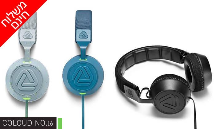 3 אוזניות חוטיות COLOUD - משלוח חינם!