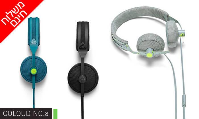 4 אוזניות חוטיות COLOUD - משלוח חינם!
