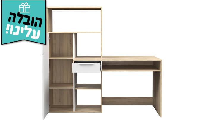 3 שולחן עבודה וספרייה HOME DECOR - הובלה חינם!