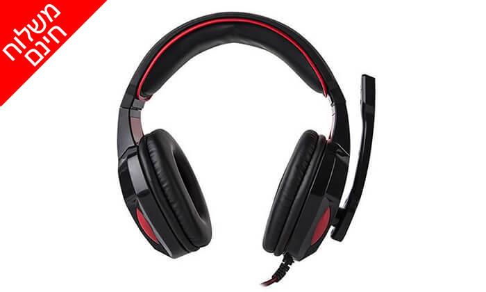 3 אוזניות גיימינג MARVO - משלוח חינם!