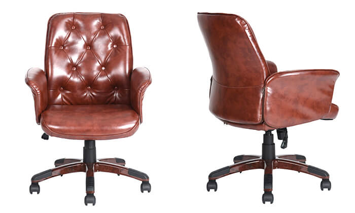11 כיסא משרדי מרופד HOMAX