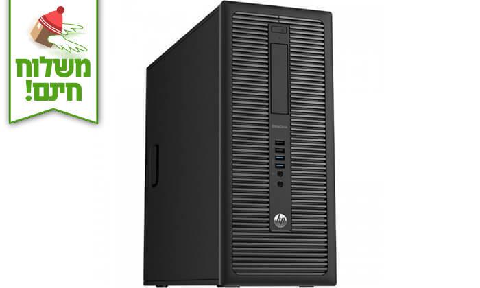 4 מחשב נייח HP עם מקלדת ועכבר - משלוח חינם!