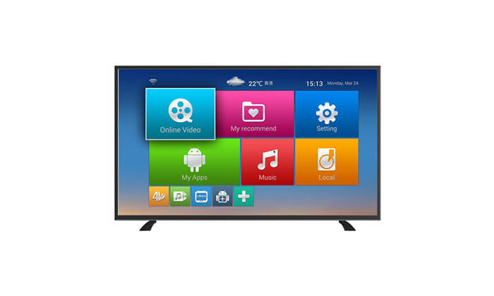 2 טלוויזיה חכמה 50 אינץ' NEON