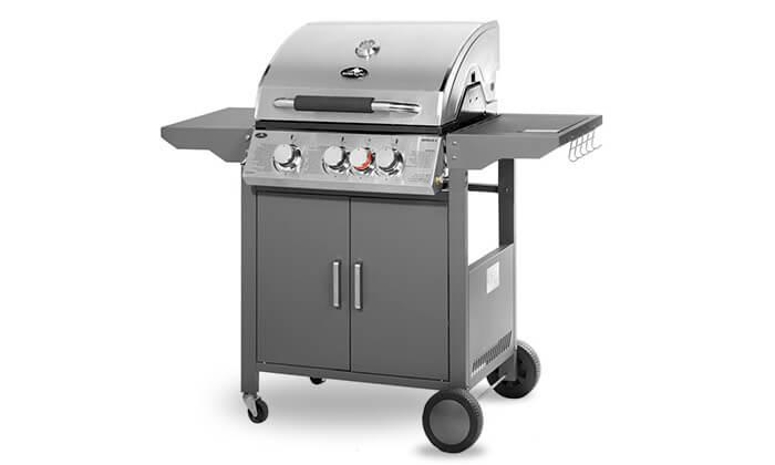 2 גריל גז Australia Chef דגם אפולו 3 - כולל גריל מורכב ומשלוח חינם!