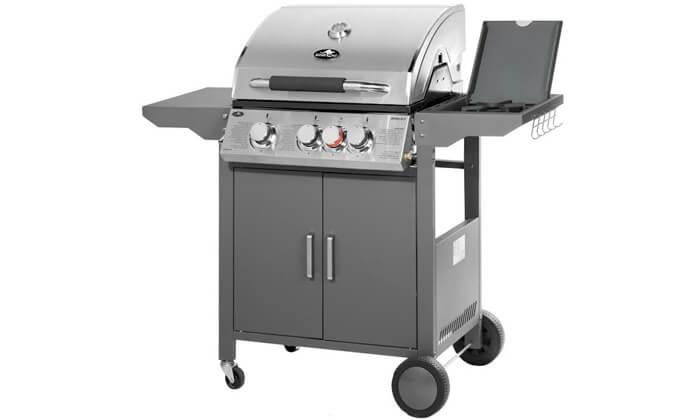 5 גריל גז Australia Chef דגם אפולו 3 - כולל גריל מורכב ומשלוח חינם!