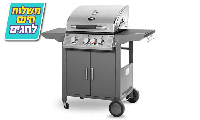 2 גריל גז 3 מבערים Australia Chef - כולל גריל מורכב ומשלוח חינם!
