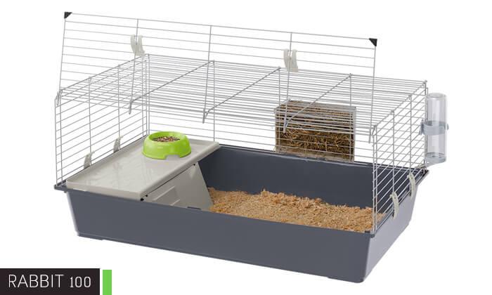3 כלוב ארנבות פרפלסט Ferplast