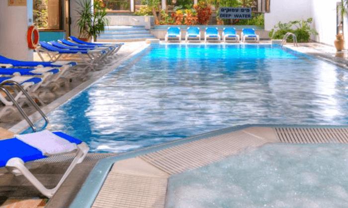 2 חופשה זוגית אורבנית בגני ירושלים - מלון וספא