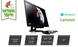 מחשב נייח LENOVO כולל מסך ''23