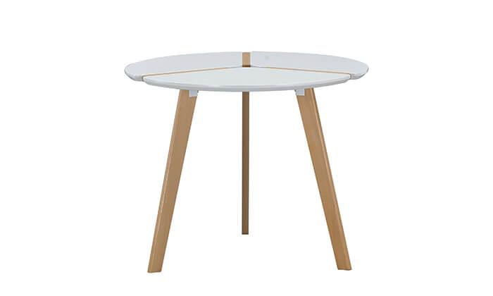 3 שולחן עגול לפינת אוכל