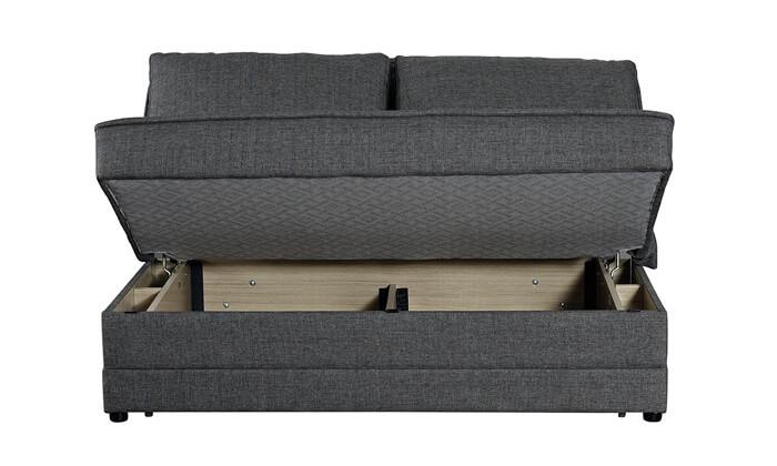 4 ספה דו-מושבית הנפתחת למיטה זוגית BRADEX