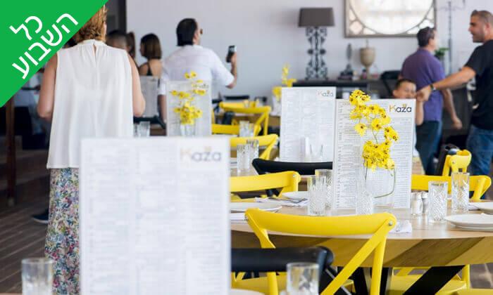 4 ארוחת בשרים במסעדת קאזה ביץ', טיילת בת ים