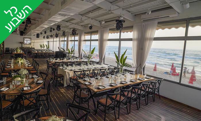 4 ארוחה בשרית זוגית במסעדת קאזה ביץ', טיילת בת ים