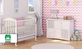 ריהוט לחדר תינוקות דגם מייפל