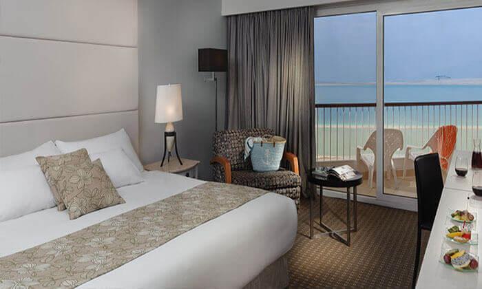 4 מלון דיויד ים המלח - חופשה על הרקע הקסום והייחודי של ים המלח, כולל ספא מפנק