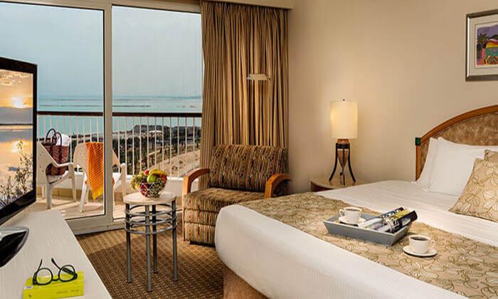 5 מלון דיויד ים המלח - חופשה על הרקע הקסום והייחודי של ים המלח, כולל ספא מפנק