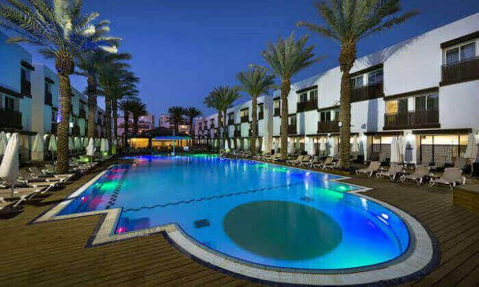 2 חופשה במלון לה פלאיה אילת, כולל טיסות