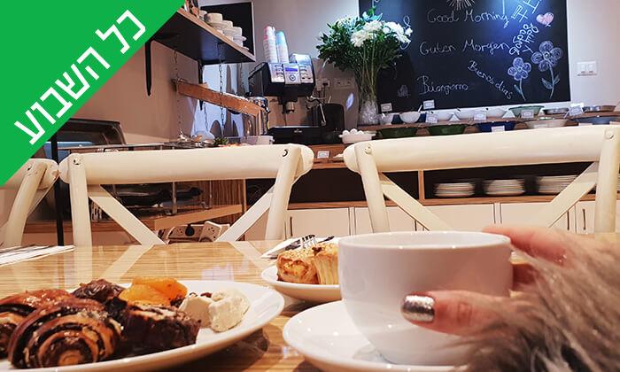 3 ארוחת בוקר בופה במלון Olive, נהריה