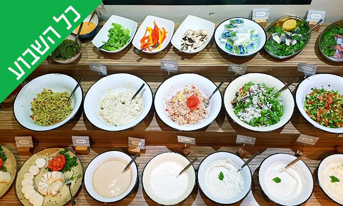 5 ארוחת בוקר בופה במלון Olive, נהריה
