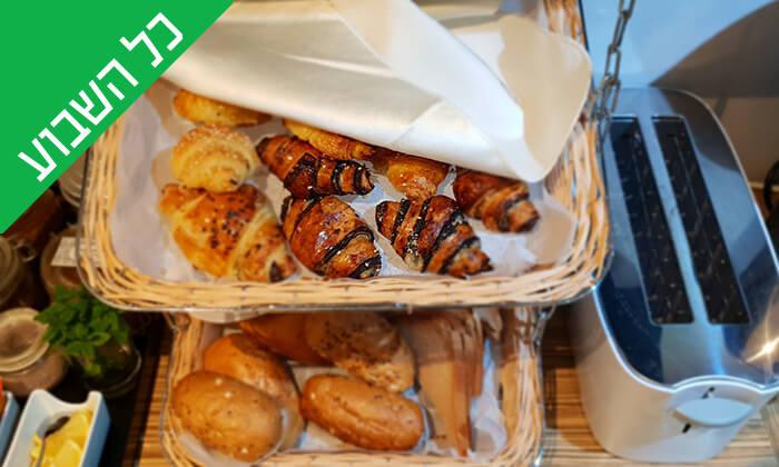 7 ארוחת בוקר בופה במלון Olive, נהריה