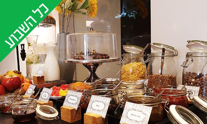 12 ארוחת בוקר בופה במלון Olive, נהריה