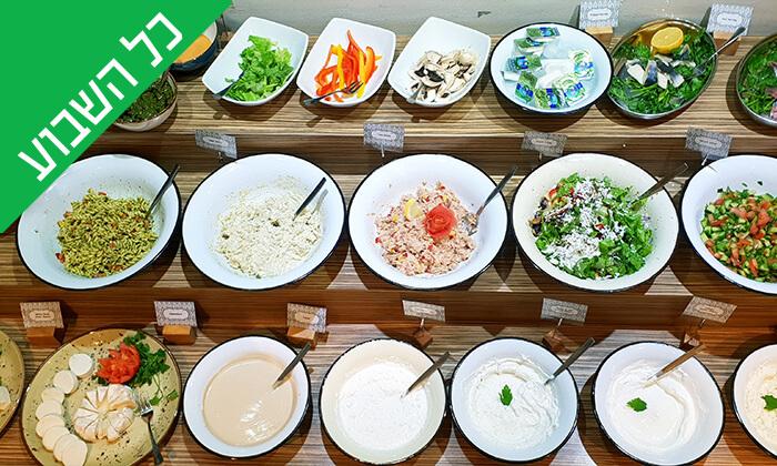 13 ארוחת בוקר בופה במלון Olive, נהריה