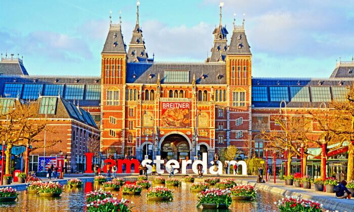 """4 חופשה באמסטרדם - העיר הכי כיפית באירופה, כולל סופ""""ש ופורים"""