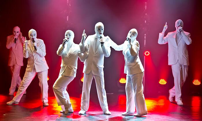 3 ווקה פיפל Voca People - כרטיס למופע העשור