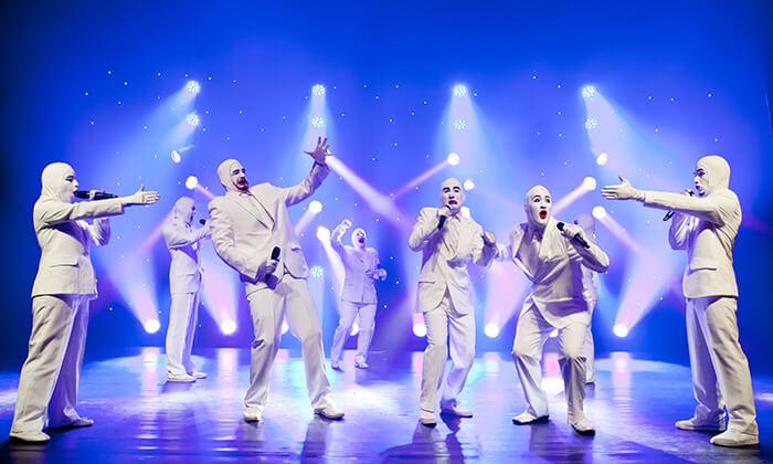 4 ווקה פיפל Voca People - כרטיס למופע העשור