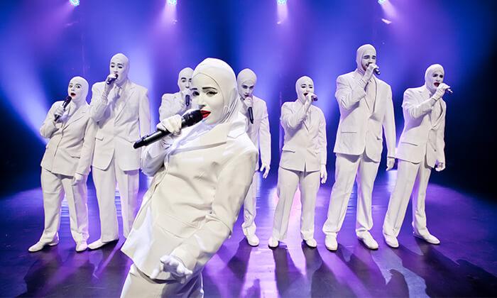 5 ווקה פיפל Voca People - כרטיס למופע העשור
