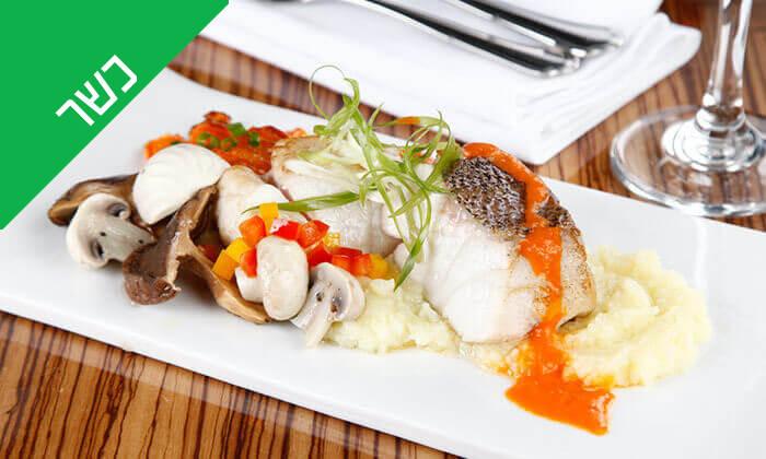 5 ארוחת פרימיום כשרה בערב שישי - מלון דיוויד אינטרקונטיננטל, תל אביב