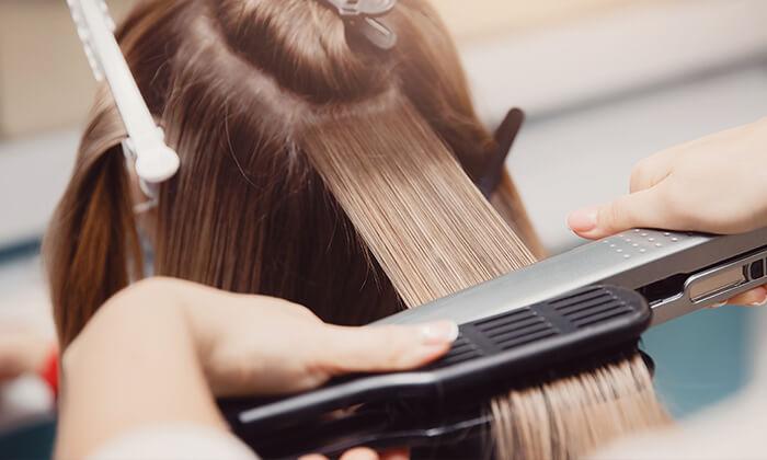 3 החלקת שיער מינרלית עד הבית - צימר ההחלקות, שלומי