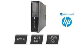 מחשב נייח HP עם מעבד i5