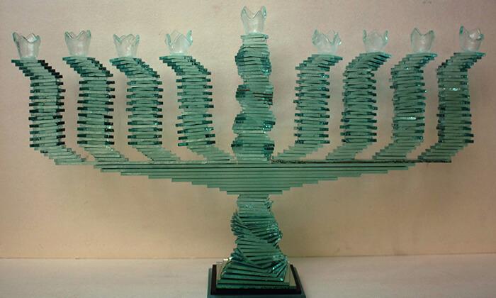 4 סדנת פיסול בזכוכית, סטודיו לאונרדו ירושלים