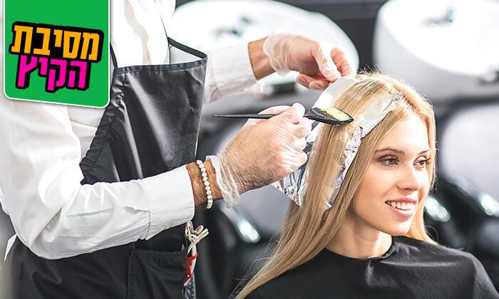 3 טיפולי שיער במספרה של אייל סדון, המושבה הגרמנית ירושלים