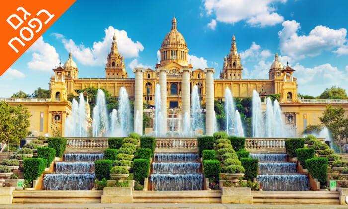 """4 חופשה בברצלונה - טפאסים, סנגריות ושופינג בכל פינה, כולל סופ""""ש ופסח"""